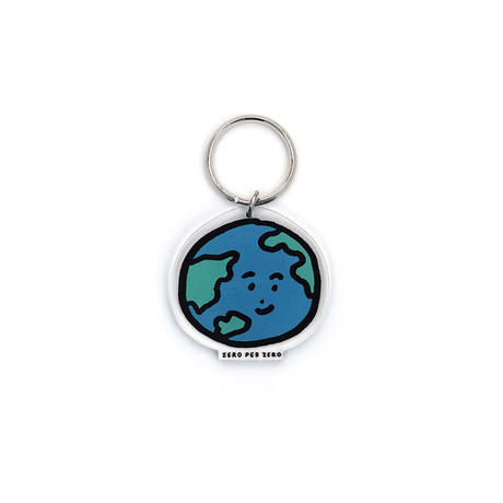 EARTH [S] | Stand Up Keyring