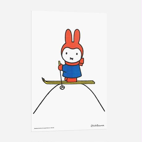 SKI | Miffy A3 RISO poster