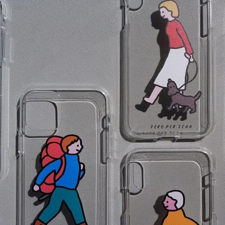 PHONE CASE (JELLY CASE) - WALK WALK series / for iPhone 12(受注生産商品)