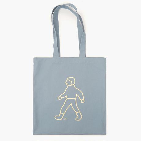 WALK WALK boy grayblue | Eco bag