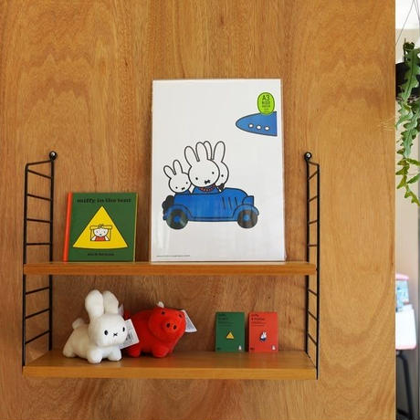 FAMILY TRAVELLING   Miffy A3 RISO poster