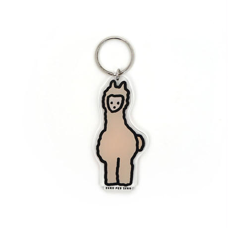 ALPACA [M] | Stand Up Keyring