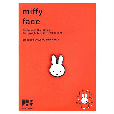 MIFFY FACE | Miffy Pin