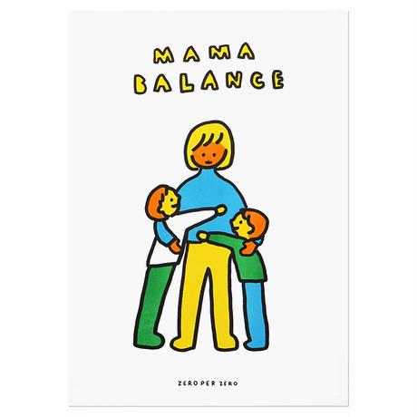 MAMA BALANCE 2   A3 RISO poster(受注生産商品)