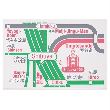 TOKYO SHIBUYA 3 | Postcard