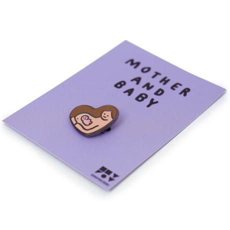 MOTHER AND BABY   Brooch