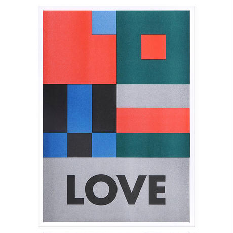 LOVE | A3 RISO poster(受注生産商品)