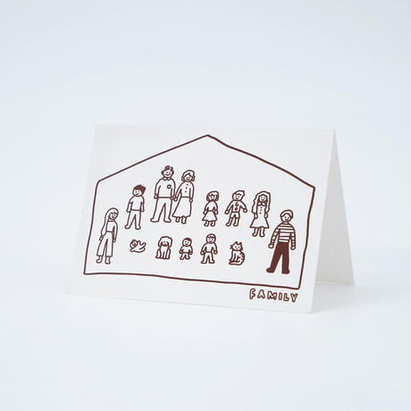BIG FAMILY | Pressed Card