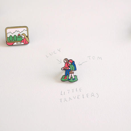 LITTLE TRAVELLERS LUCY&TOM | Pin