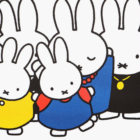 BIG FAMILY   Miffy A3 RISO poster
