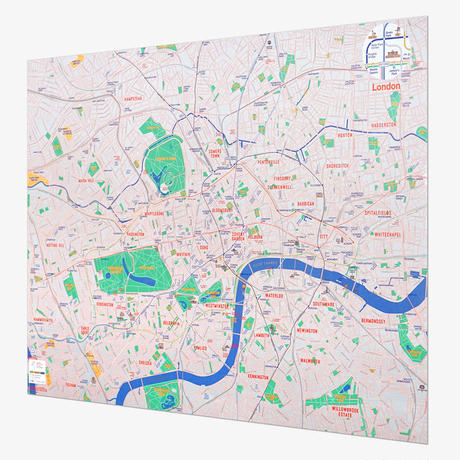 LONDON (navy) | City map