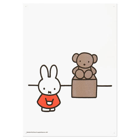 MUSEUM | Miffy A3 RISO poster