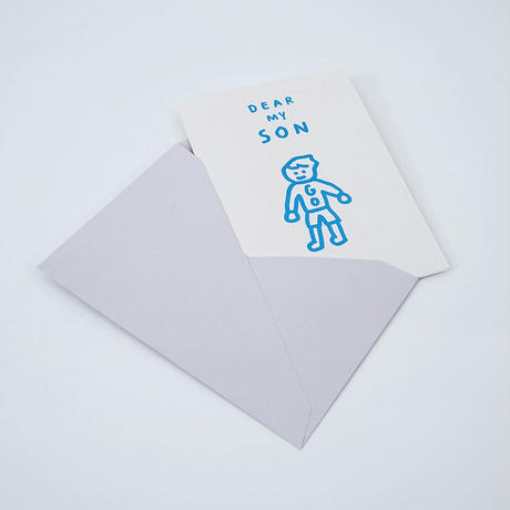 DEAR MY SON | Pressed Card