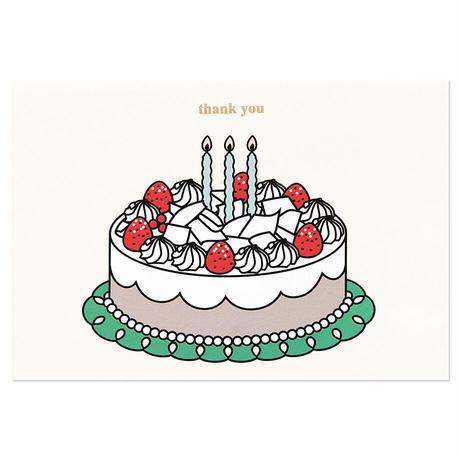 WHITE CHOCOLATE CAKE   Cake card
