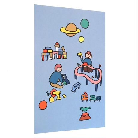 TOY BLOCK | A3 poster(受注生産商品)