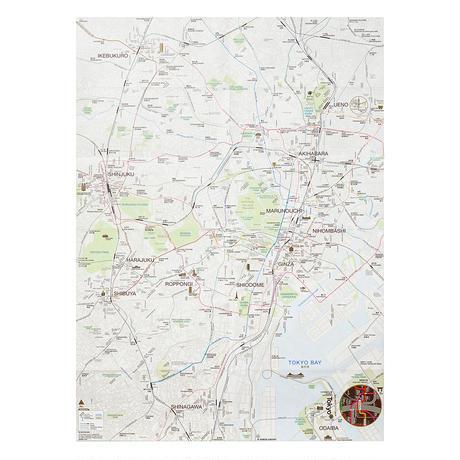TOKYO (brown)   City map