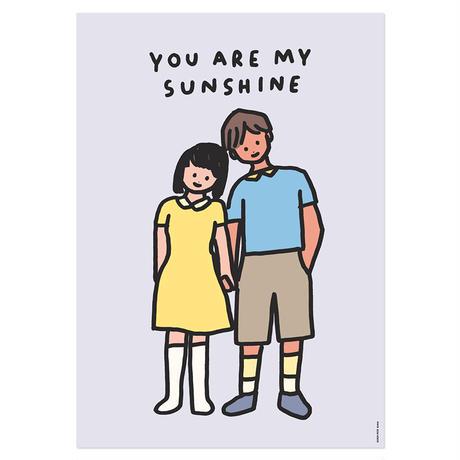 COUPLE (SUNSHINE) | A3 poster(受注生産商品)