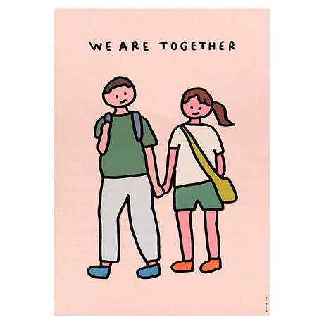 COUPLE2 (TOGETHER)   A3 poster(受注生産商品)