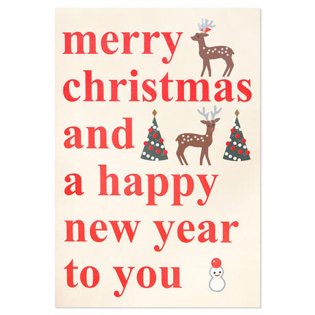 LETTER   Christmas card