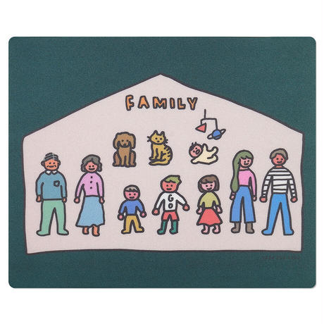 BIG FAMILY | Mouse pad