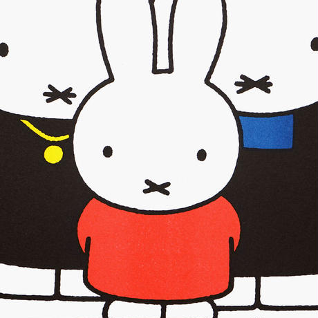 FAMILY | Miffy A3 RISO poster