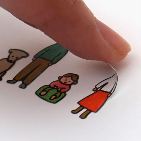 DIARY STICKER-PEOPLE | Sticker