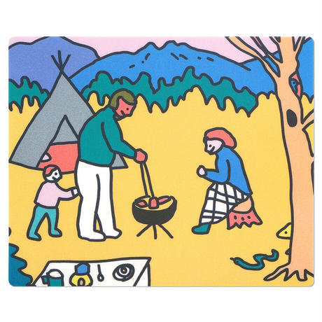 CAMPING HAND | Mouse pad
