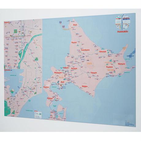 HOKKAIDO | City map