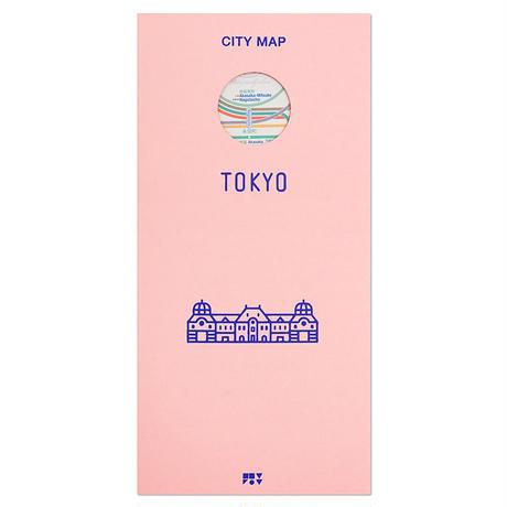 TOKYO (white) | City map