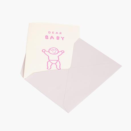 DEAR BABY | Pressed Card