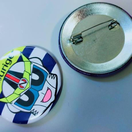 ゼロング10周年記念イラスト缶バッジ(ゲストバージョン)