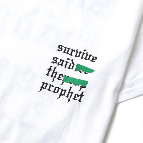Survive Said The Prophet / TAPED LOGO TEE (WHITE)