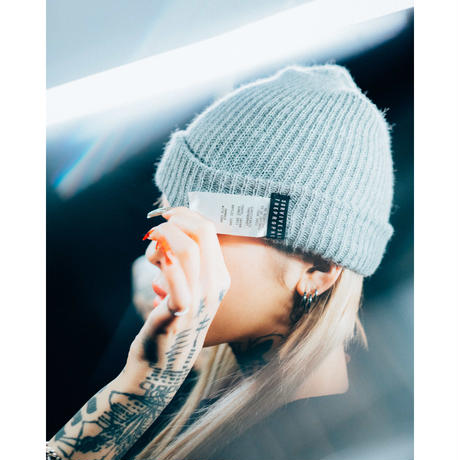 Survive Said The Prophet / SIDE TAG BEANIE (GRAY)