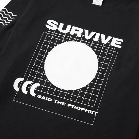 Survive Said The Prophet / SPACE LONG SLEEVE TEE (BLACK)