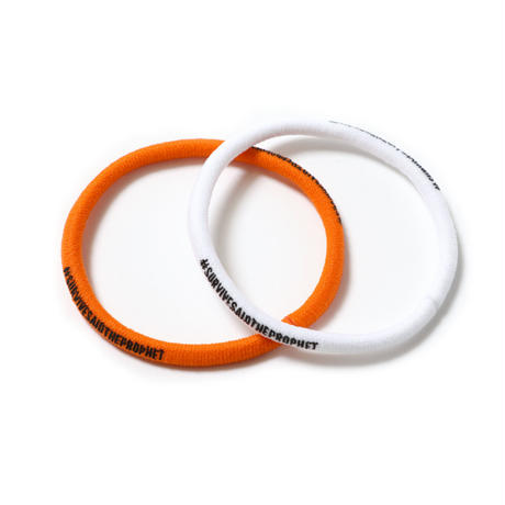 Survive Said The Prophet / HAIR TIE PLUS (ORANGE & WHITE)