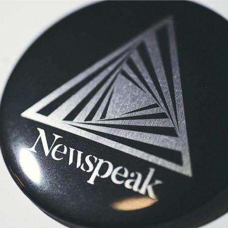 Newspeak / STAINLESS DEKA BADGE (Black)
