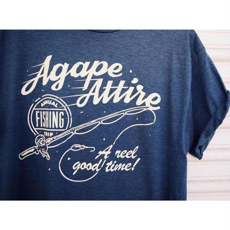AGAPE ATTIRE  / FISHING REEL TEE