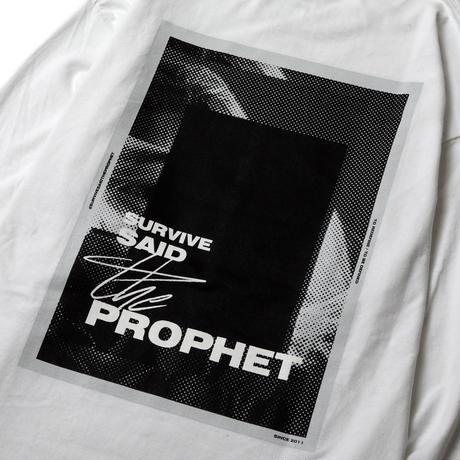 Survive Said The Prophet / BITMAP L/S TEE (WHITE)