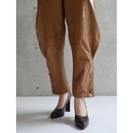 70S USA LEATHER JODHPURS PANTS