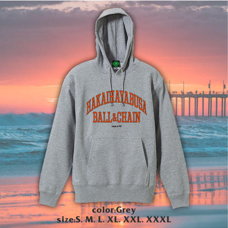 "HH x BALL&CHAIN "" SPECIAL COLLABORATION PULLOVER HOODIE """