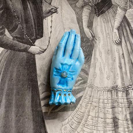 貴婦人の手(ブルーキュラソー )