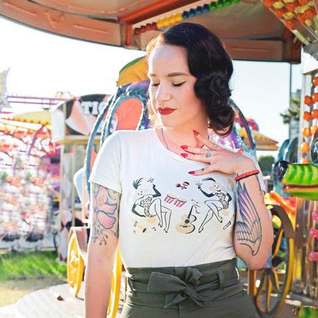 Showgirls T-shirt◇ショウガールTシャツ