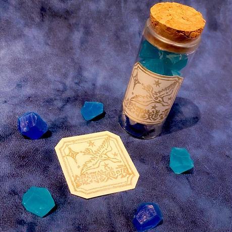 【小瓶セット】十誡特製オリジナル琥珀糖『桜桃・檸檬・銀河鉄道の夜』
