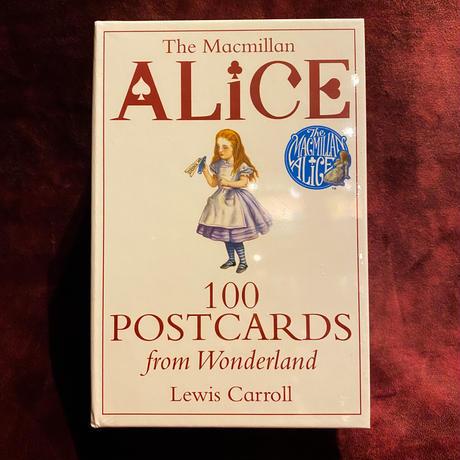 ルイス・キャロル『不思議の国のアリス』ポストカード100枚セット
