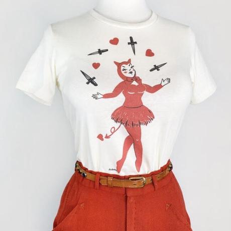 Dagger Devil T-shirt ◇デビルガールTシャツ