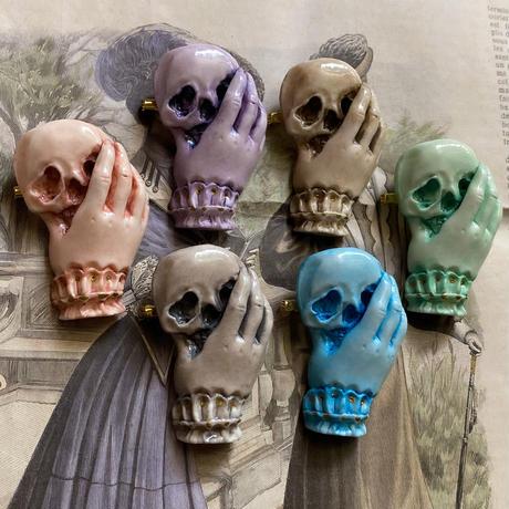 骸骨と貴婦人の手(ブルーキュラソー )