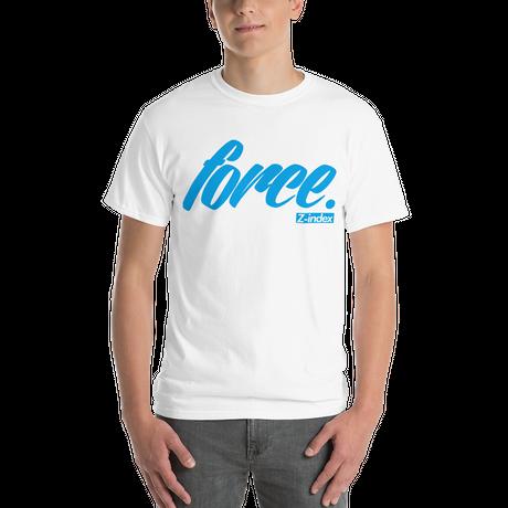 「force.」ロゴ プレミアムモデルレギュラーTシャツ