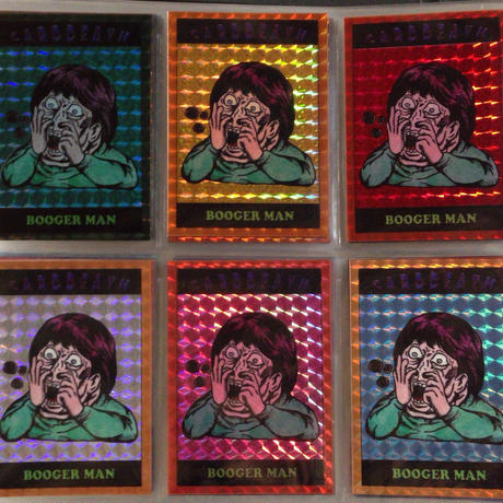 第1弾【CARDDEATH カードデス】「鼻くそ男」(キラプリズム版)