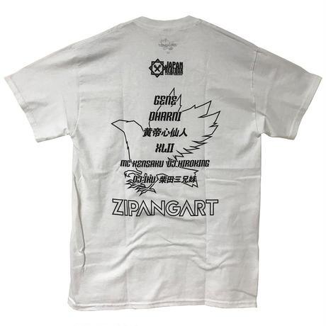 JAPAN BEATBOX CHAMPIONSHIP 2017 オフィシャルコラボTシャツ WHITE