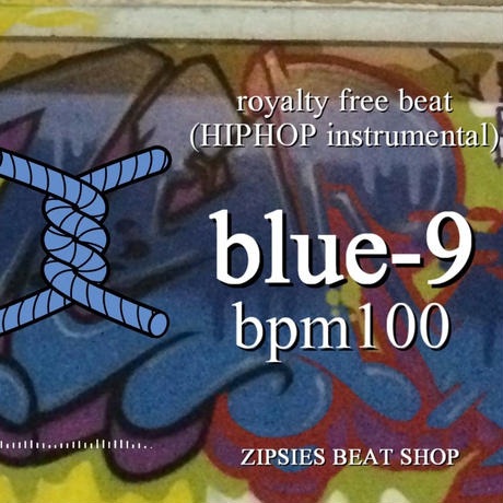 "OLD blue 09 BPM100 ZIPSIES royalty-free beat ""2019"""